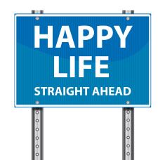 stock-illustration-24633685-道路交通標識-人生の幸福